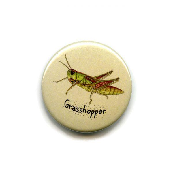 grasshopper fridge magnet