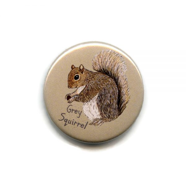 grey squirrel magnet