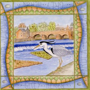 heron dumfries greetings card