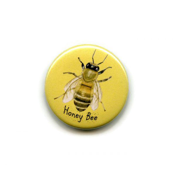 honey bee fridge magnet