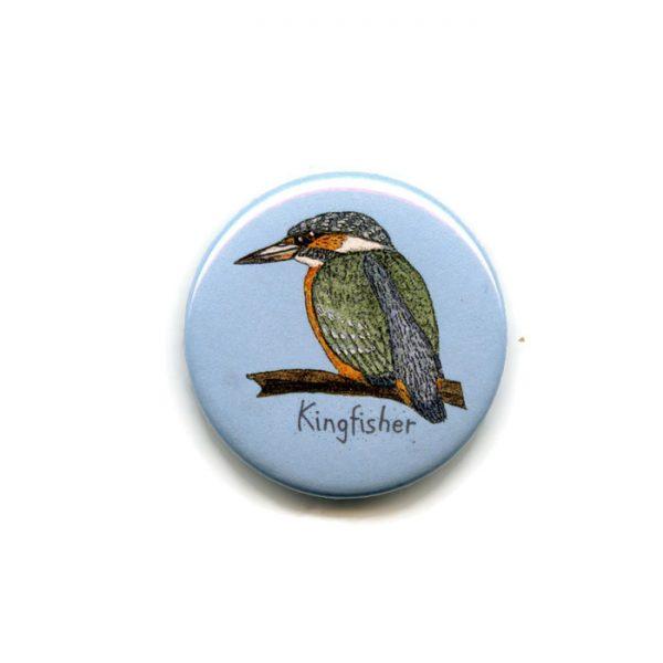 kingfisher fridge magnet