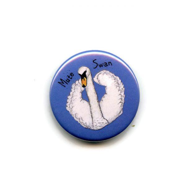 mute swan fridge magnet