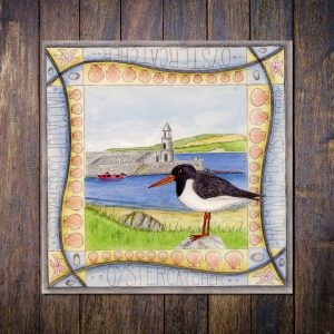 Oystercatcher Port Logan Greetings Card