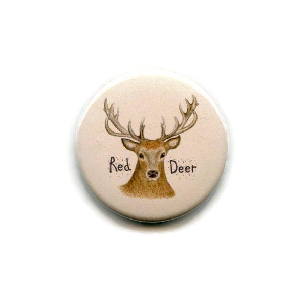 red deer stag fridge magnet