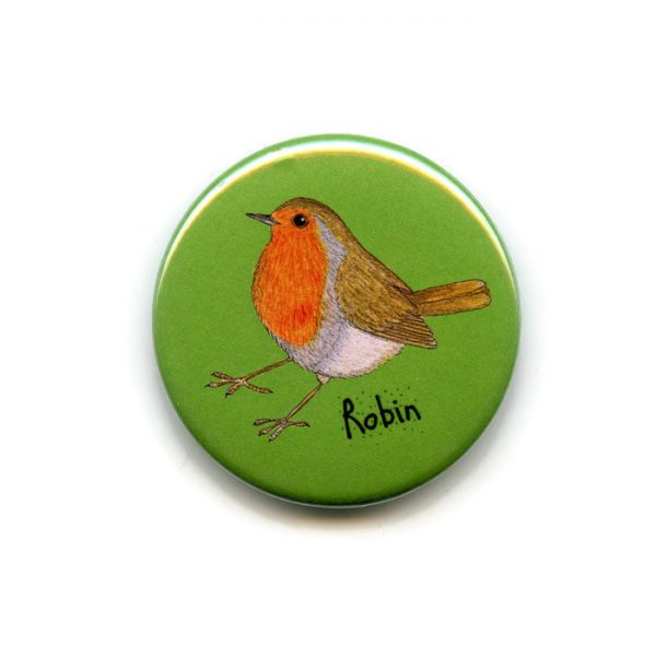 robin fridge magnet