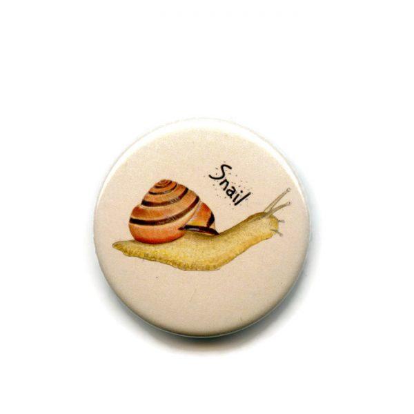 snail fridge magnet