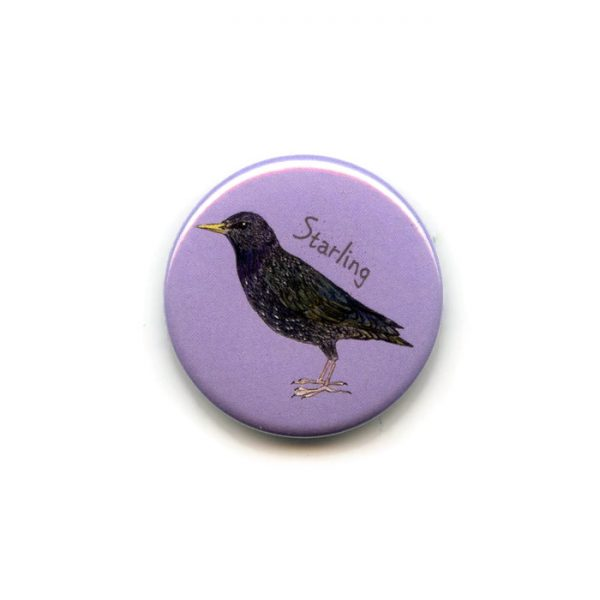 starling fridge magnet
