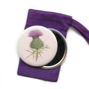 thistle pocket mirror