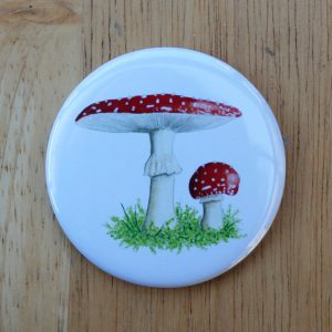 toadstool pocket mirror