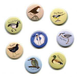 water birds fridge magnet