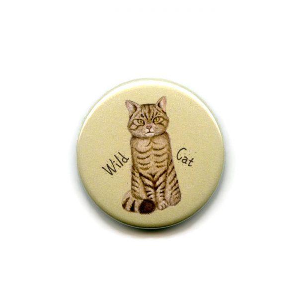 wild cat fridge magnet