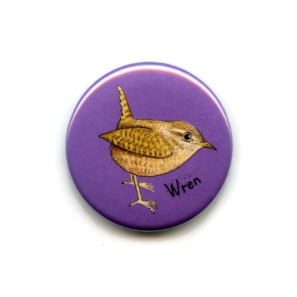 wren fridge magnet