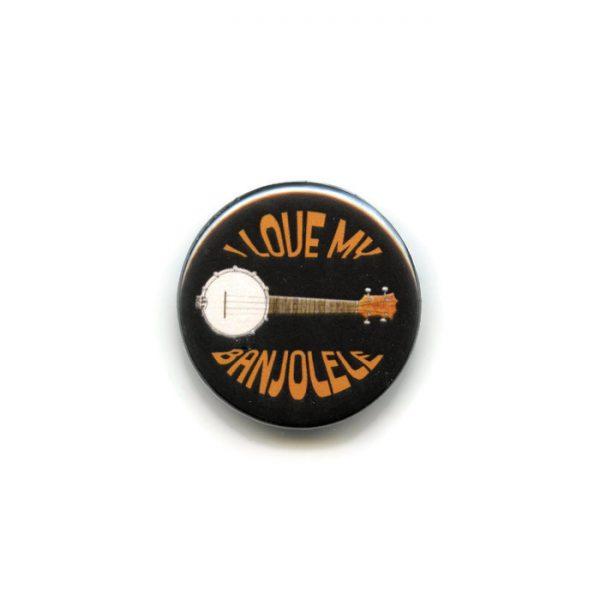 banjolele button badge