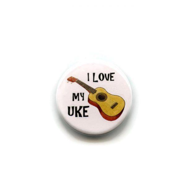 i love my uke badge