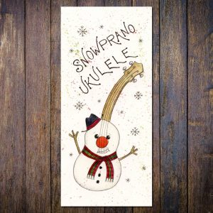 Ukulele Christmas Card