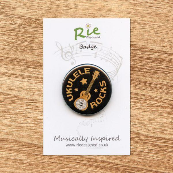 ukulele rocks badge