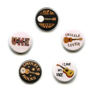 ukulele button badges