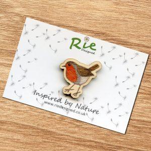 robin brooch
