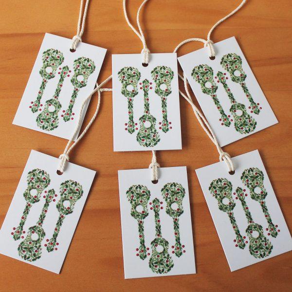 Christmas Ukulele Gift tags