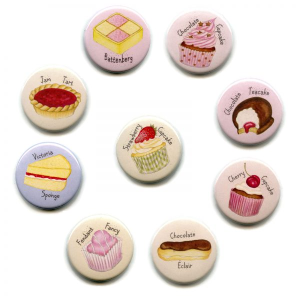set cakes magnets