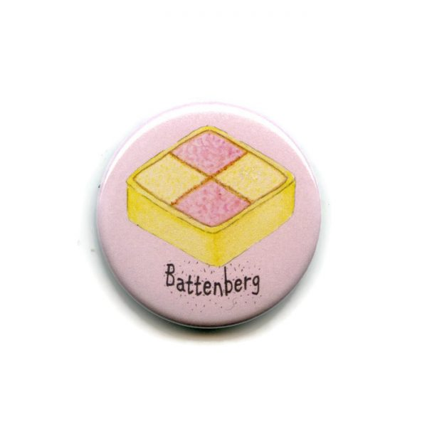 battenberg cake magnet