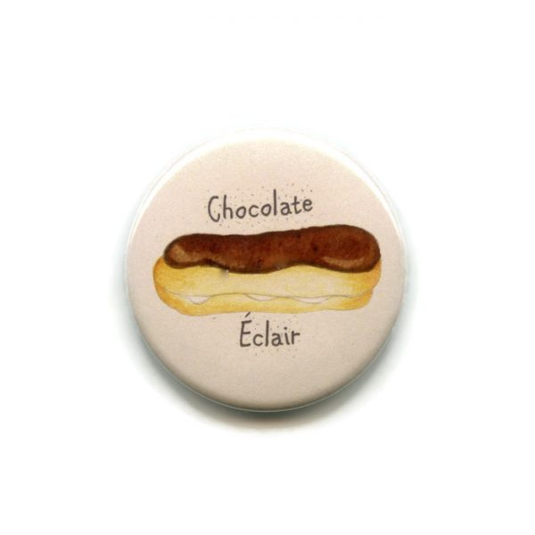 chocolate eclair magnet