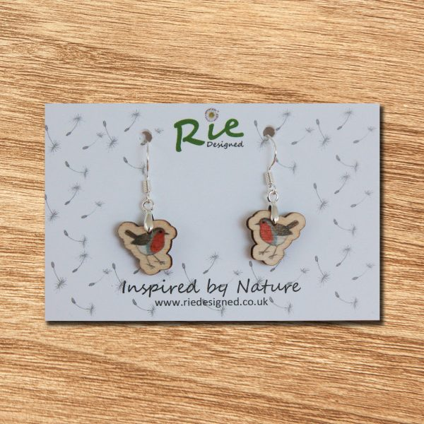robin drop earrings