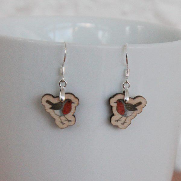 robin drop earrings
