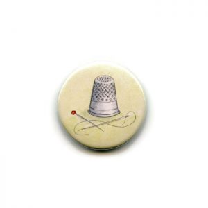 thimble fridge magnet