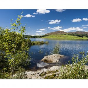Clatteringshaws Loch Photographic Print