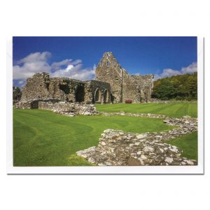 glenluce abbey photo card