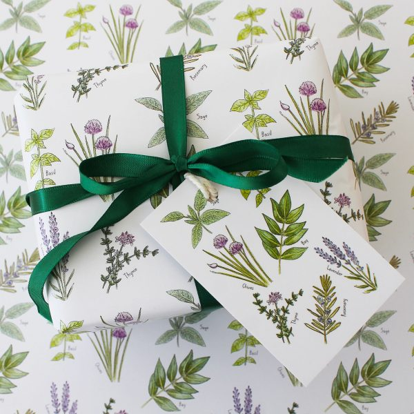 herb gift wrap