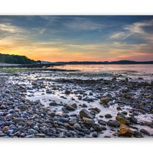 sunset balcary bay photographic print