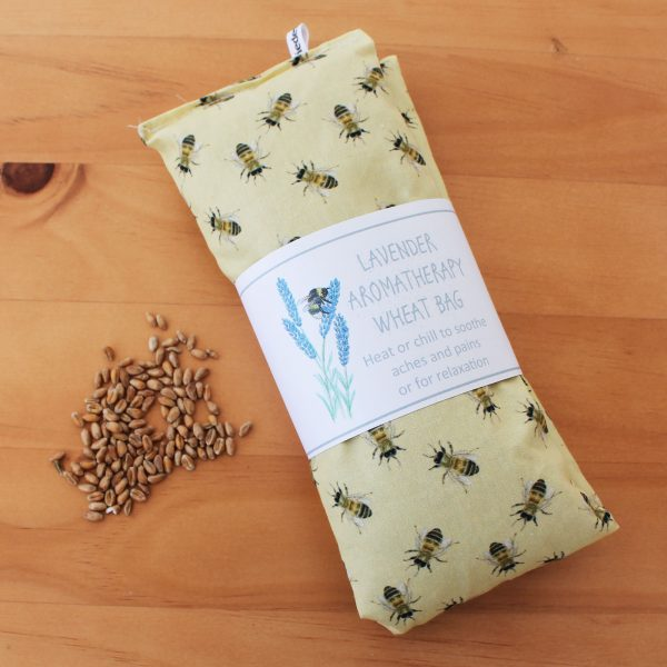 honey bee lavender wheat bag