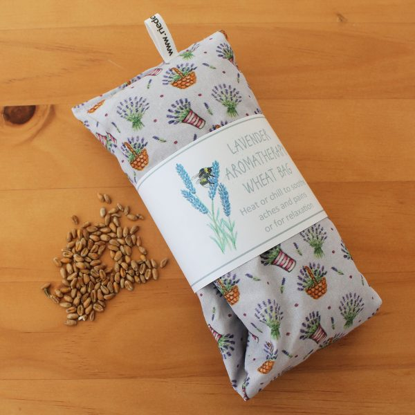Lavender wheat heat bags