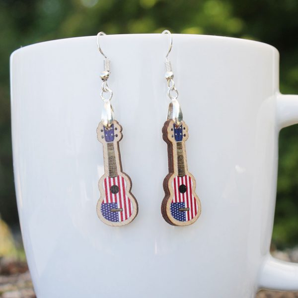 Stars-and-stripes-ukulele-earrings