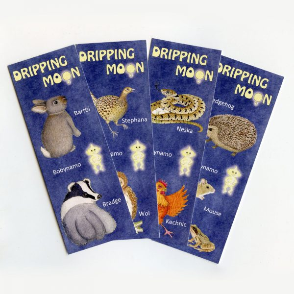 Dripping-Moon-Bookmarks