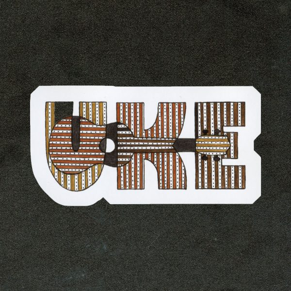 Uke Ukulele Vinyl Sticker