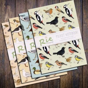 A6 Bird Notebooks