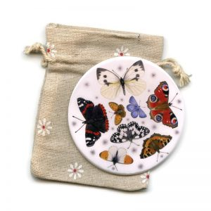 Butterflies pocket mirror
