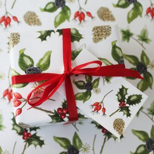 Christmas-foliage-wrap
