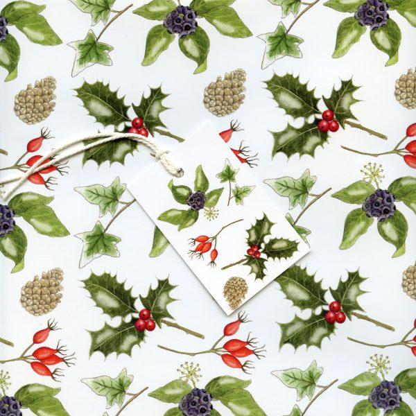 Christmas-foliage-wrap