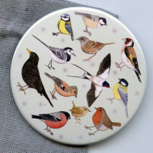 Garden Birds Pocket Mirror