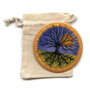 Tree of Life pocket mirror