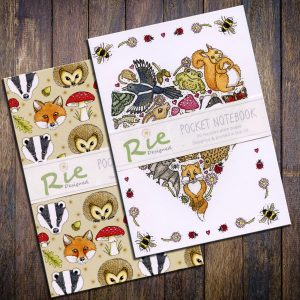 woodland-animals-and-love-nature-notebooks