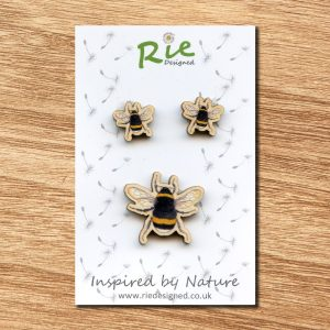 bumblebee-jewellery set