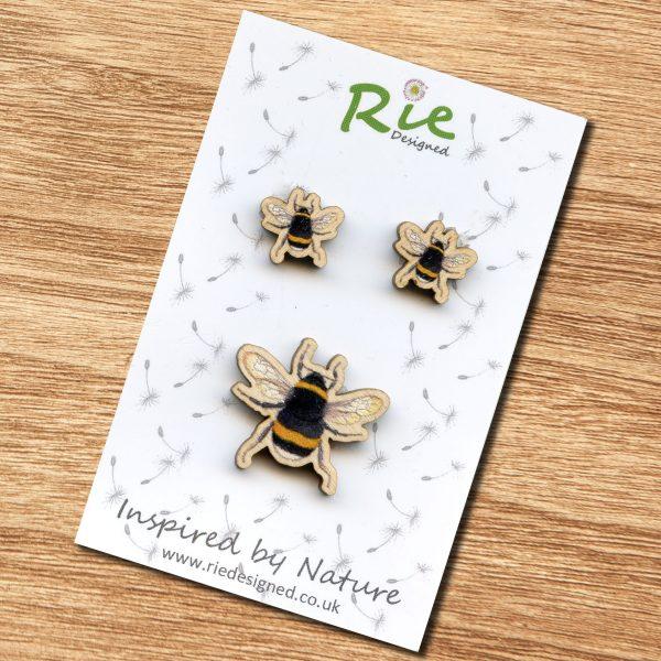 bumblebee-jewellery set