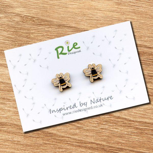 bumblebee-stud-earrings