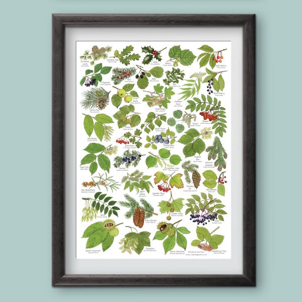 A3-Tree-Leaves-Poster