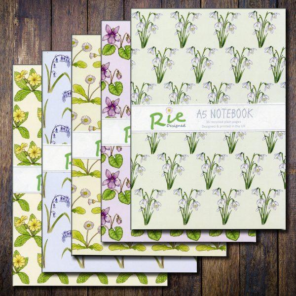 Wild Flower Notebooks
